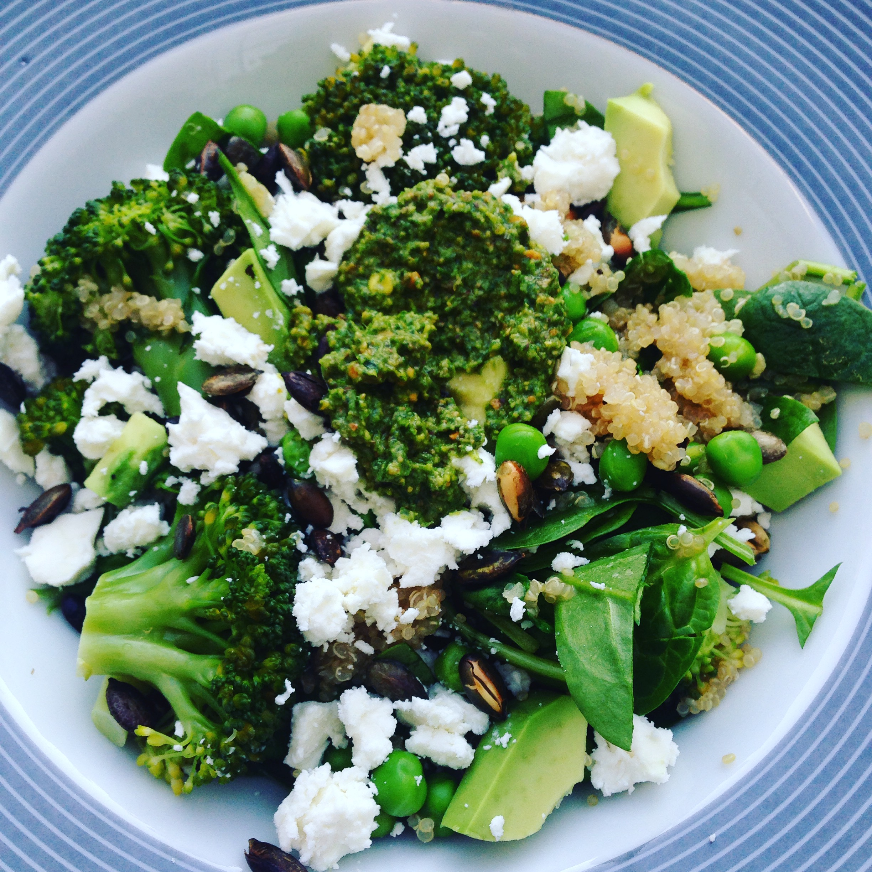 kleine salade als bijgerecht